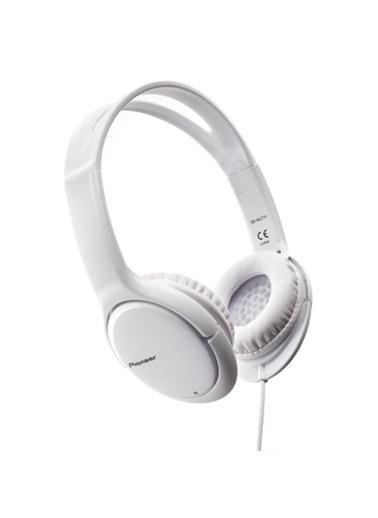 Pioneer SE-MJ711-W Kulaküstü Kulaklık Beyaz